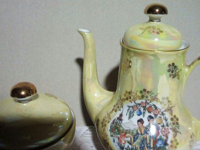 Чайник, большой от сервиза гейши, гдр 25 манат. Photo 0