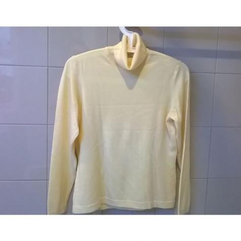 Μπλούζα ολόμαλλη εκρού - Φορεμένη 1 φορά ( σαν καινούργια ) - Made in Italy