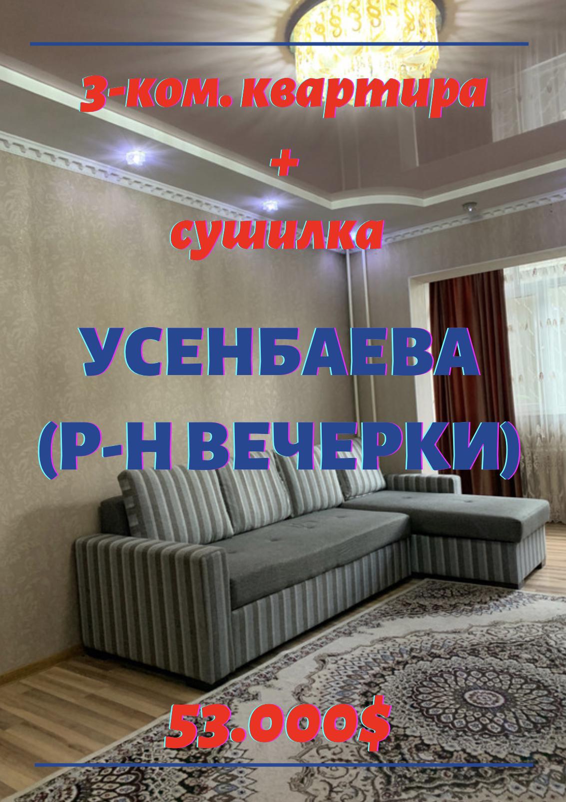 3-ком. кв  Усенбаева