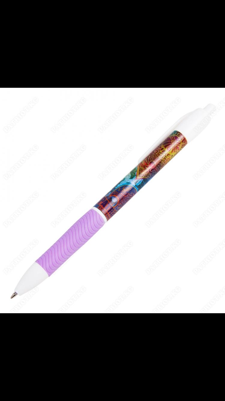 Ручки с кнопкой.